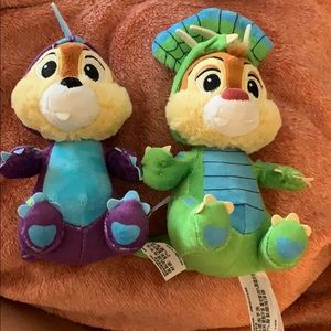 Dinosaur Chip and Dale